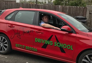 Driving Instructor Mark Hughes