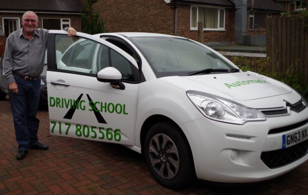 Peter Brett Automatic Driving Instructor