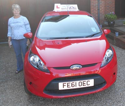Driving Instructor Sevenoaks Carole Jeffrey